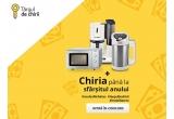 1 x cuptorul cu microundeBosch HMT72M450, 1 x mega blenderul Tefal BL841138, 1 x cafetiera Bosch TKA8011, 1 x trei luni de chirie in valoarea maxima de 300euro/luna