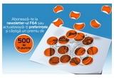 1 x voucher F64 in valoare de 500 de lei