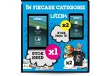 3 x tableta Utok 1005D, 6 x tableta Utok Hello 7D, 6 x set produse Cartoon Network