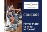 10 sedinte Power Plate - un program de tonifiere - stretching - masaj anticelulitic!<br />