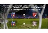 10 bilete la FC Steaua - FC Rapid, 10 bilete la FC Steaua - FC Dinamo, 1 x unitate multimedia Audiovox VME 9312TS<br />
