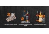 "2 x excursie de o persoana in Lynchburg - Tennessee, 2 x sticla Limited Edition – Jack Daniel""s Frank Sinatra + POSM JD + tricou sau alt element de brand, 2 x sticla Jack Daniel""s 0,7 l + 1 sticla Jack Daniel""s Honey 0.7 l + POSM JD"