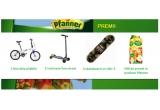 1 x bicicleta pliabila, 2 x trotineta Stun street, 3 x skateboard Mid 5, 500 x Pfanner Suc Mere 100% 2L