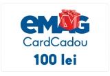 1 x voucher eMAG de cumparaturi online in valoare de 100 lei