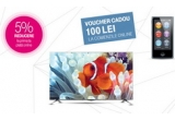 3 x televizor Smart TV LG 42UB820V 4K UHD, 21 x Apple iPod Nano 16 GB, garantat: voucher Telekom cadou de 100 Lei