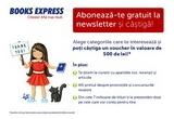 1 x voucher Book Express in valoare de 200 de lei