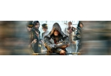 1 x Consola Sony Playstation 4 1 TB Neagra + Joc Assassins Creed: Syndicate – Special Edition + DLC: Industrial pentru Playstation 4, 1 x Joc Assassins Creed: Syndicate – The Rooks Edition pentru Playstation 4, 1 x Casti Speedlink Coniux pentru PlayStation 4, 9 x Tricou Assassin's Creed Syndicate, 6 x ceas de buzunar promotional, alte materiale promotionale