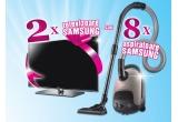 4 x Aspirator Samsung SR8845, 4 x Aspirator Samsung SS7550, 2 x LCD Samsung 22D450