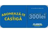 5 x voucher Flanco in valoare de 300 de lei