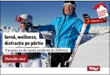 1 x vacanta la Tirol Austria, 9 x voucher cumparaturi de 200 ron pe hervis-sports.ro