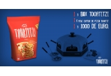 29 x bax Toortitzi, 4 x cuptor de pizza pentru acasa, 1 x 1000 euro