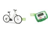1 x Bicicleta Shimano, 20 x Pedomentru