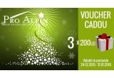 3 x voucher Pro Alpin in valoare de 200 de lei