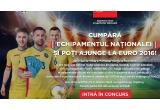 8 x voucher dublu de 1500 de euro pentru Euro 2016