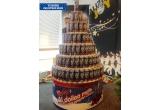 "1 x dozele de bere ""Tuborg Christmas Brew"" folosite la construirea ""bradului"", 3 x kit cadou Tuborg Christmas Brew"