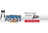 1 x 60 pliculete de mancare Felix + timp de o saptamana va fi vedeta paginii de Facebook DJ Pisi