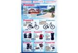 1 x sejur de 7 nopti in Grecia - Insula Skiathos, 1 x bicicleta electrica DHS, 1 x bicicleta MTB Devron Rddle H, 5 x Expresor DeLonghi, 10 x Fierbator electric, 10 x Filtru cafea, 10 x Grill, 10 x Rasnita cafea, 50 x Aparat Ceresit Aero 360 cu 2 rezerve