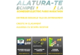 4 x participare/inscriere gratuita la Schneider Electric Paris Marathon 2016 + antrenament de o luna cu TeamRun, 4 x jambiere CompresSport + mansete CompresSport, 12 x casti de alergare Plantronics