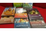 1 x set de 8 DVD-uri cu documentare din seria ATLAS Discovery: Brazilia + Mexic + Rusia + Egipt + India + Australia + Franta + Africa de Sud