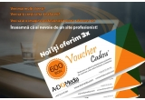 3 x voucher A&D Media in valoare de 200 RON