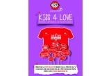 400 x tricou promotional pentru cuplu in editie limitata Kiss FM de Valentine's Day
