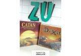 6 x joc Catan + 1 joc Dixit + 1 bax (12 pachete) cafea Doncafe Selected 300 g