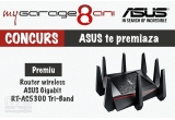 1 x Router wireless ASUS Gigabit RT-AC5300 Tri-Band