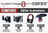 1 x Boxe Edifier E3350BT Black, 2 x Boxe Edifier M3200 Black, 3 x Casti Edifier Over-Head K830 black, 10 x Umbrela EDIFIER
