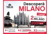 2 x excursie pentru doua persoane in Italia - Milano + 150 euro / persoana bani de buzunar, 200 x voucher de cumparaturi Lidl de 30 ron