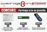 1 x SSD Transcend 360 Premium Series 256GB SATA-III 2.5 inch, 2 x Memorie Transcend 8GB DDR3 1600MHz CL11, 3 x Memorie externa Transcend JetFlash 790 32Gb USB 3.0 negru-albastru