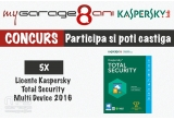 5 x Securitate Kaspersky Total Security Multi Device 2016