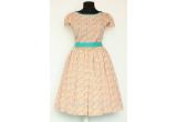 1 x rochie unicat din imagine semnata Dumpi Boutique (marime 38)