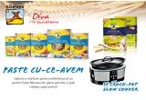 1 x Slow Cooker Crock Pot + Paste Baneasa din grau dur, 1 x 12 kg paste Baneasa din grau dur + sosuri pentru paste, 1 x 10 kg paste Baneasa din grau dur