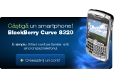 un blackberry Curve 8320<br type=&quot;_moz&quot; />
