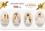 garantat: voucher La Novia in valoare de 500 lei