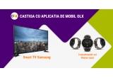 1 x Televizor LED Smart Samsung 101 cm 40JU6000 4K Ultra HD, 3 x Ceas Smartwatch Vector Luna