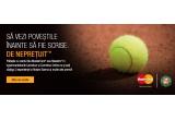 3 x experienta VIP la turneul de tenis Roland Garros pentru 2 persoane, 10 x ceas de mana, 20 x prosop, 30 x geanta de voiaj