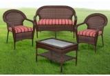 1 x set de mobilier Pembrey (2 fotolii + canapea + masuța)