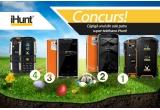 1 x smartphone iHunt X6, 1 x smartphone iHunt X200 Orange, 1 x smartphone iHunt X100 Orange, 1 x smartphone iHunt i1 Gri