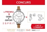1 x set Esprit format din ceas și cercei din argint