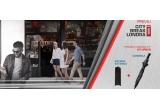1 x city break in Londra pentru tine si inca 3 prieteni, 4000 x kit urban format din umbrela automata si baterie externa 2600mAh