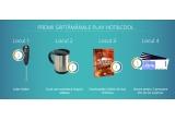 """13 x Latte shaker, 13 x Cana auto-amestecatoare, 13 x carte """"Enciclopedia cafelei"""" de Ana Tomescu, 13 x 2 bilete de intrare la Ice Bar Mamaia by Jacobs"""