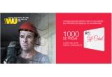 1000 x card cadou de 200 ron