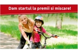 1 x bicicleta DHS pentru copii complet echipata
