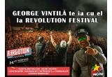 "2 x pachet ""Revolution Festival"" (abonament Revolution Festival + bilet de tren dus – intors + camera cazare in hotel minim 2 stele pentru 2 nopti)"