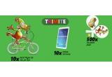 10 x tableta Samsung, 10 x bicicleta Pegas, 500 x set palete de plaja
