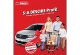 1 x masina Dacia Logan, 200 x voucher Profi de 50 lei