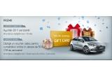 1 x masina Hyundai i20, 153 x voucher Amazon de 50 euro