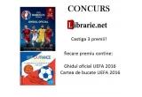 "3 x Carte de bucate ""Vive la France!"" + ""Ghidul oficial UEFA 2016"""