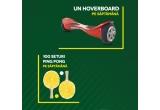 10 x hoverboard, 1.000 x set de ping pong